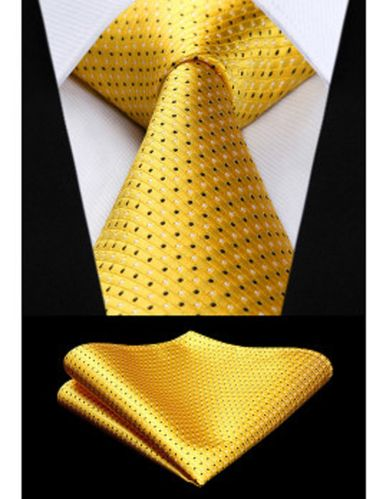 Corbata Mod Yellow-Check